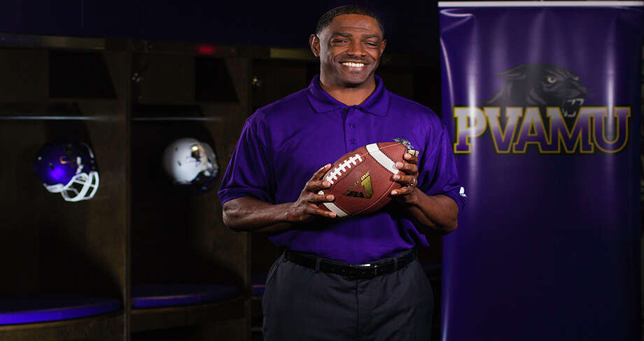 Former Grambling State offensive coordinator Eric Dooley has been named head coach at Prairie View A&M. Photo: AKKI