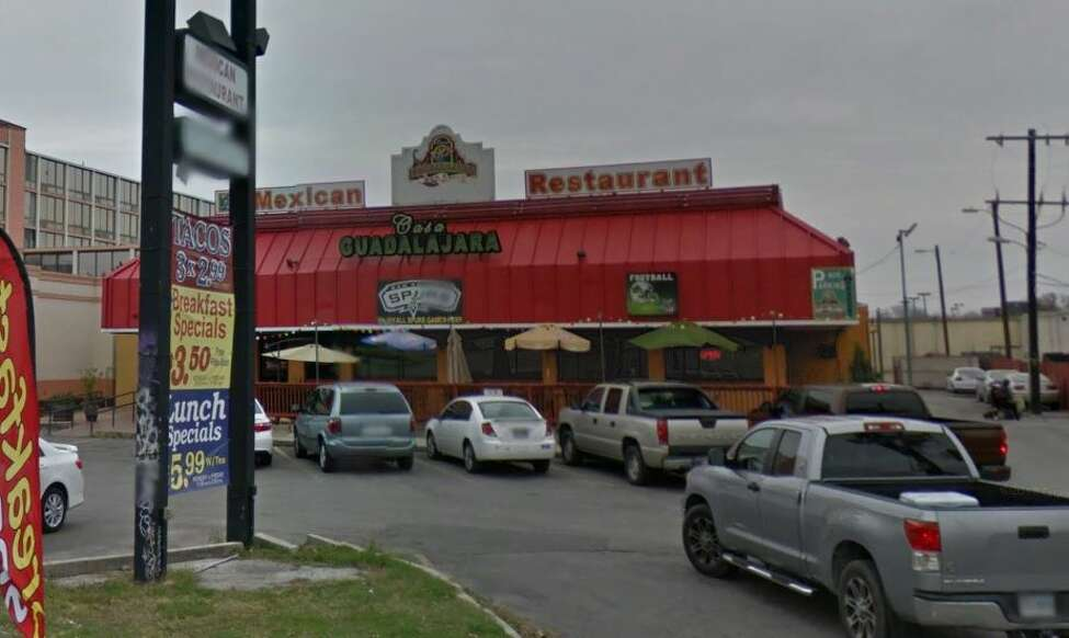 Casa Guadalajara Bar & Grill: 2623 N.E. Loop 410 Date: 05/01/2019  Score: 73 Highlights: Raw meats stored above ready-to-eat foods. Rim or seam dented cans must be segregated for return or disposal. Spray bottles not properly labeled. No valid food manager certificate on site. No thermometer in refrigerator.