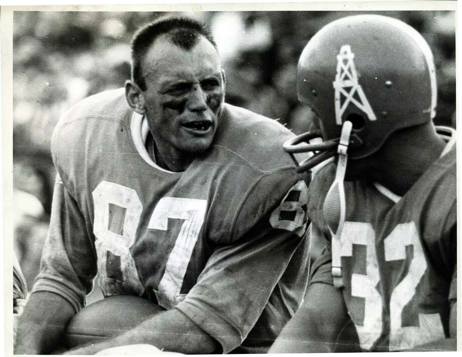 Houston Oilers receiver Charlie Hennigan, who passed away Dec. 17, 2017. Hennigan was 82. Photo: Dan Hardy, Houston Chronicle / Houston Post files