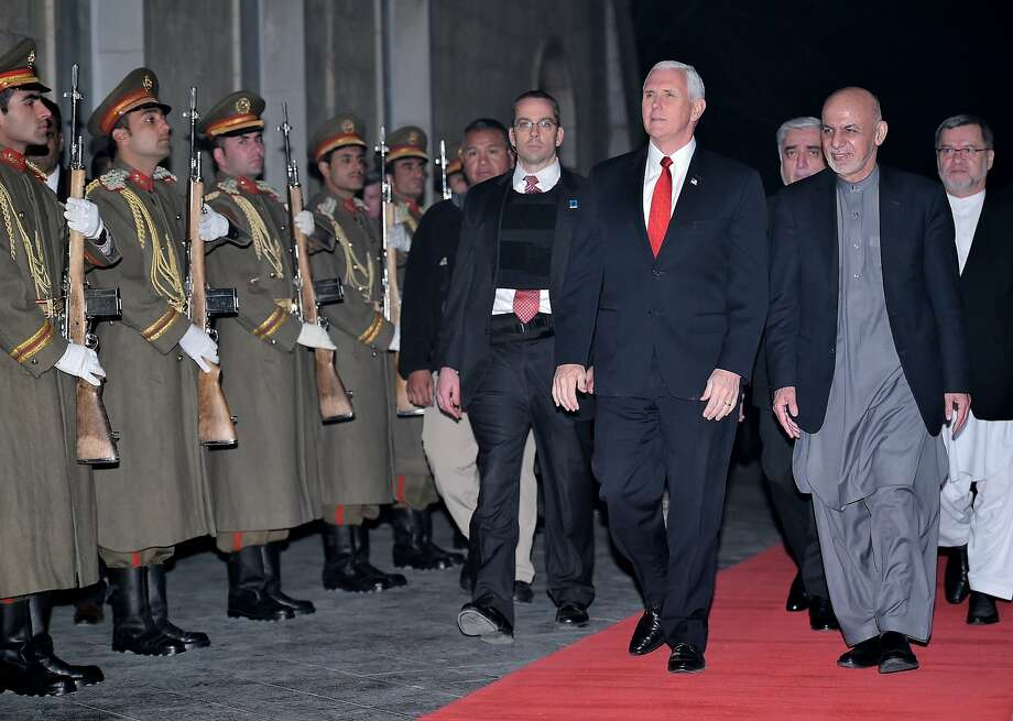 Pakistan has much to lose from 'harbouring terrorists': Pence says in Afghanistan