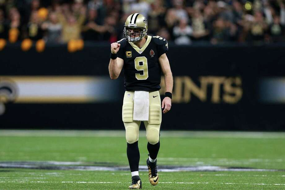 Drew Brees and the Saints host the NFC South rival Falcons in a pivotal contest Sunday. The winner clinches a playoff berth. Photo: Sean Gardner, Stringer / 2017 Getty Images
