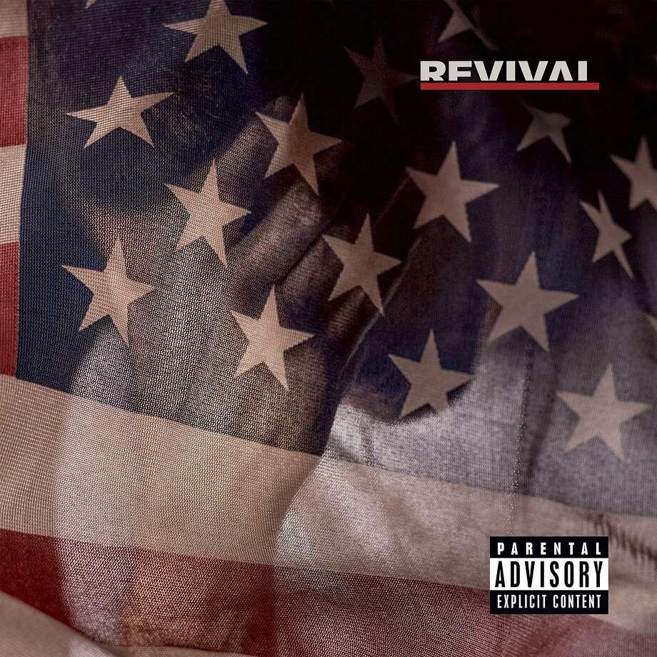 "Eminem's new album, ""Revival,"" his ninth studio album. Photo: Associated Press"
