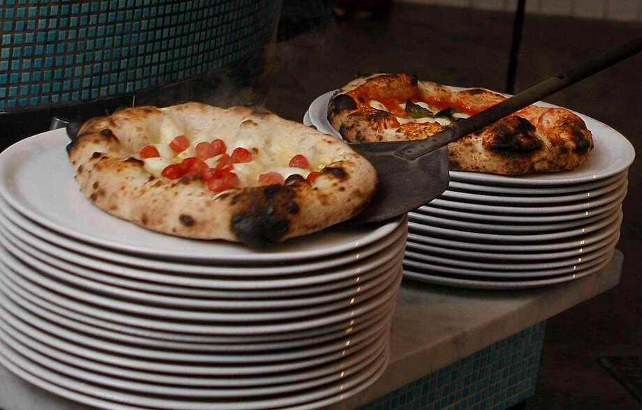 Chef Anthony Mangieri of Una Pizza Napoletana making pizzas during dinner time in San Francisco, California, on Thursday, December 20, 2012. Photo: Liz Hafalia, The Chronicle