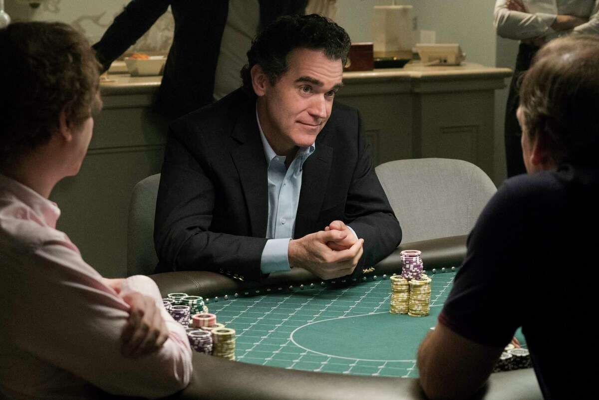 This image released by STXfilms shows Brian D'Arcy James in a scene from