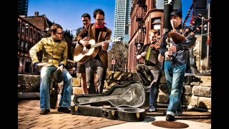 The Toronto-based folk/rock/Celtic band Enter the Haggis will perform Thursday, Dec. 28, at the Fairfield Theatre Company's StageOne. Photo: YouTube / Contributed Photo