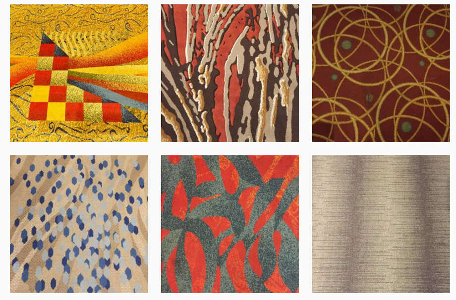 Bill Young's Instagram page, which features photos of carpet from  hotels he's stayed at, has more than 600,000 followers. Photo: Bill Young