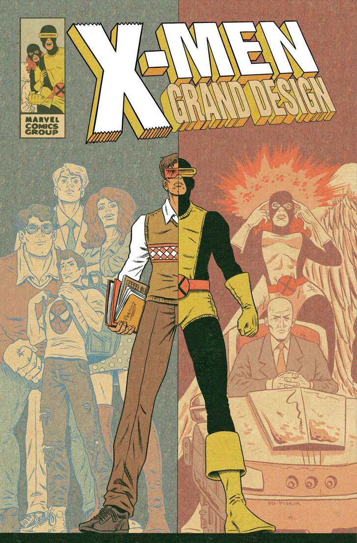 "The cover of ""X-Men Grand Design,"" by Ed Piskor."