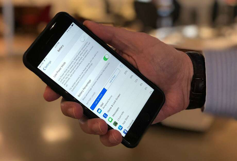 If your iPhone's battery needs replacing, you'll get a notification at the top of the screen at Settings > Battery. Photo: Brian Rausch / Houston Chronicle