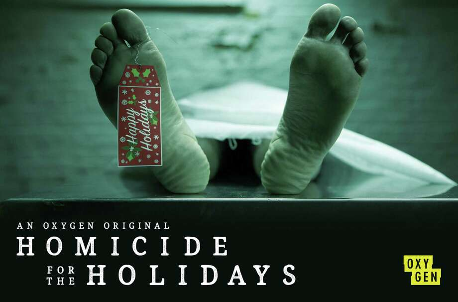 "HOMICIDE FOR THE HOLIDAYS -- Pictured: ""Homicide for the Holidays"" Key Art -- (Photo by: Oxygen) ORG XMIT: Season: 2 Photo: Oxygen / 2017 NBCUniversal Media, LLC."