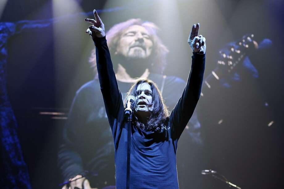 With his clear and inextricable link to San Antonio, Ozzy Osbourne would have made a better choice to headline the Tricentennial performance than REO Speedwagon or Pat Benetar. Photo: Edward A. Ornelas /San Antonio Express-News / © 2013 San Antonio Express-News