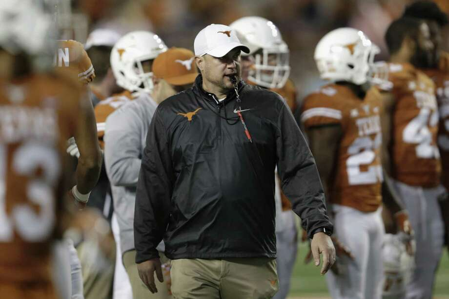 Tom Herman is poised to reel in the third-ranked recruiting class. Natalia Vaughns, also known as 'mUTha hustla' and mother of recruit Byron Hobbs, played a key role in luring recruits. Photo: Tim Warner / Getty Images / 2017 Getty Images