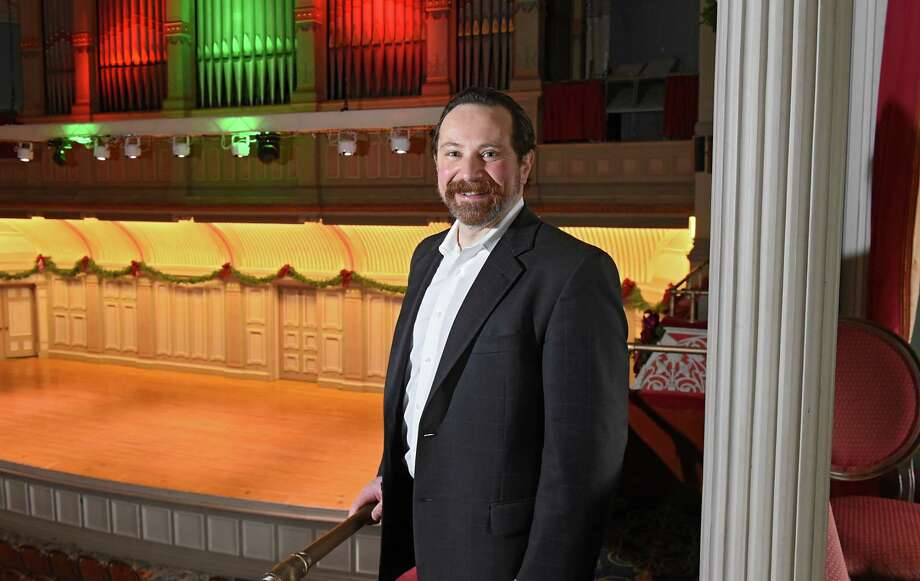 Pastor Ed Marcelle in the Troy Savings Bank Music Hall on Wednesday, Dec. 20, 2017 in Troy, N.Y. Pastor Marcelle is the founder of Terra Nova Church that is holding a Christmas Eve service open to everyone in the community at the Troy Savings Bank Music Hall. (Lori Van Buren / Times Union) Photo: Lori Van Buren / 20042451A