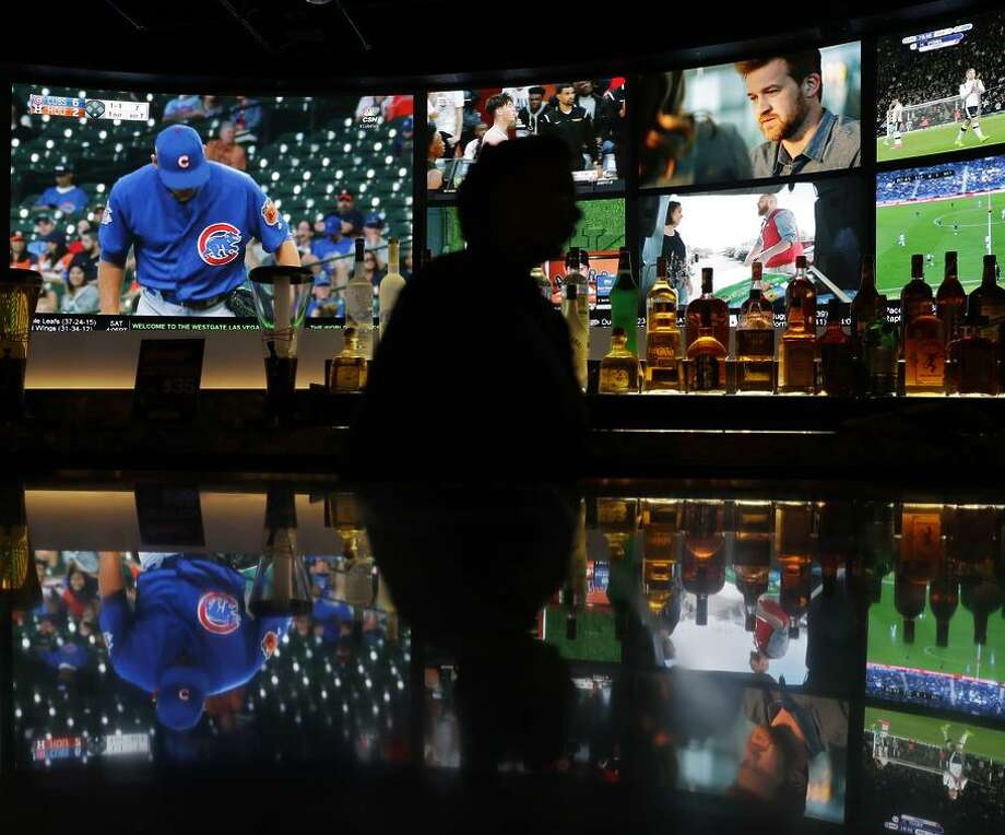 Telecasts that show sporting events are often in demand by people who get shared passwords. Photo: John Locher / John Locher / Associated Press / Copyright 2017 The Associated Press. All rights reserved.