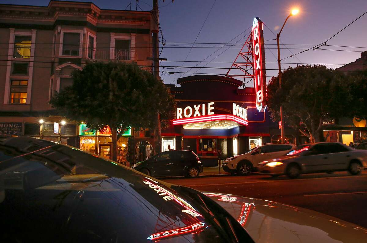 The Roxie Theater located on 16th st. in the Mission neighborhood in San Francisco, Ca. seen on Wed. December 20, 2017.