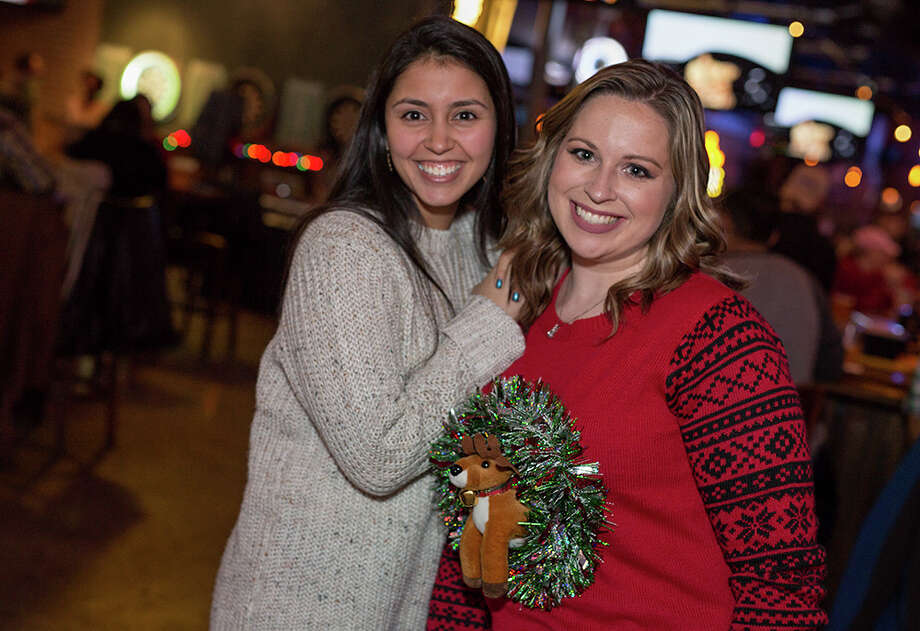 Holiday spirit was everywhere at Little Woodrow's Babcock Christmas Con! with ugly sweaters (and suits) and a cash prize for best dressed Friday night, Dec. 22, 2017. Photo: B. Kay Richter For MySA.com