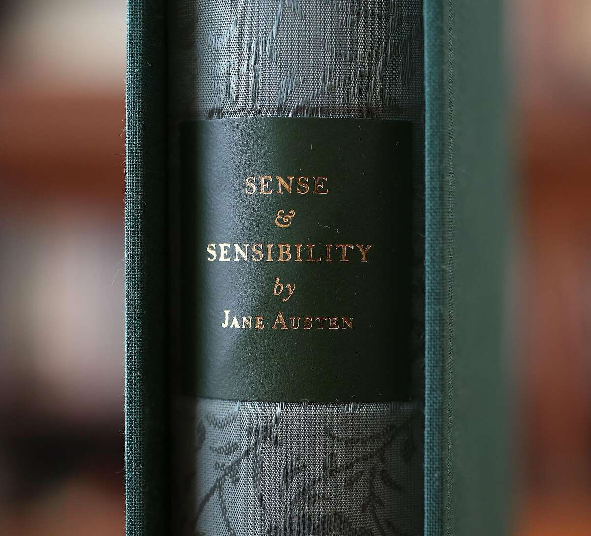 """The newest creation from Arion Press is limited edition works by Jane Austen's """"Sense and Sensibility"""" with original artwork from SF artist Augusta Talbot on Monday, December 4, 2017, in San Francisco, Calif."""