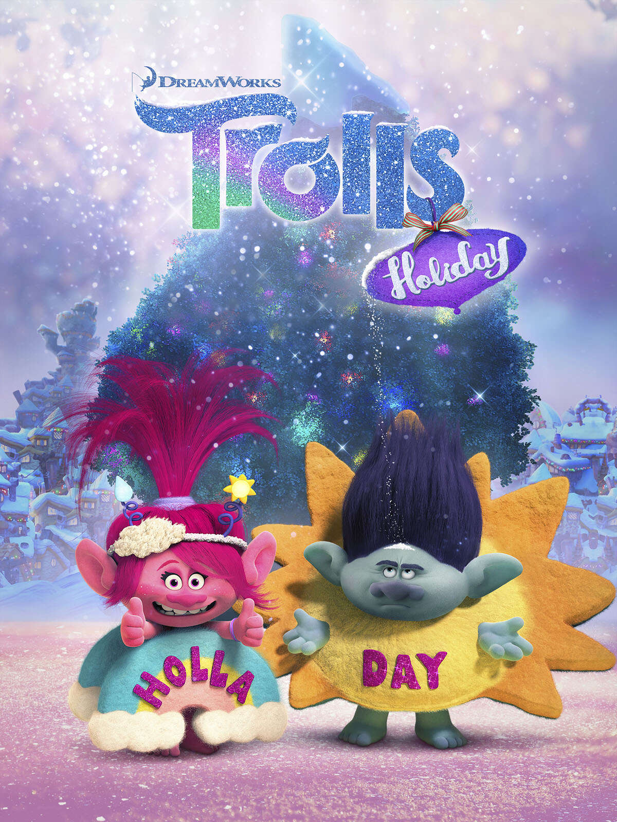 """DREAMWORKS TROLLS HOLIDAY -- Pictured: """"DreamWorks Trolls Holiday"""" Key Art -- (Photo by: NBCUniversal)"""