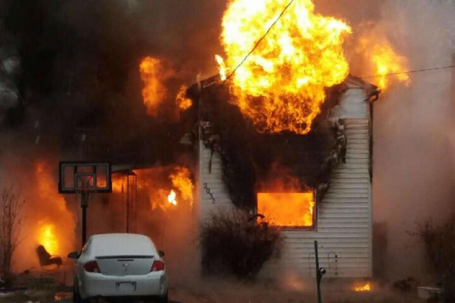 Fire destroyed the home of Leila Iadicicco and her three children on Friday, Dec. 22, 2017, on Westside Avenue in Rotterdam. (Provided photo) Photo: Provided Photo