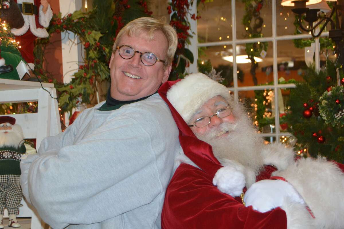 Santa stopped by Hollandia Nursery in Bethel on December 23, 2017. Were you SEEN meeting with Santa and enjoying the holiday decorations?