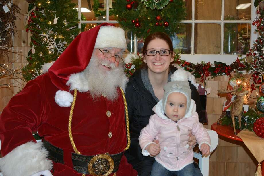 Santa stopped by Hollandia Nursery in Bethel on December 23, 2017. Were you SEEN meeting with Santa and enjoying the holiday decorations? Photo: Vic Eng / Hearst Connecticut Media Group