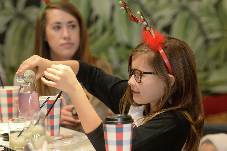Cookies and cocoa with Santa event Dec. 23, 2017 at Opal's Table restaurant in downtown Midland. James Durbin/Reporter-Telegram Photo: James Durbin