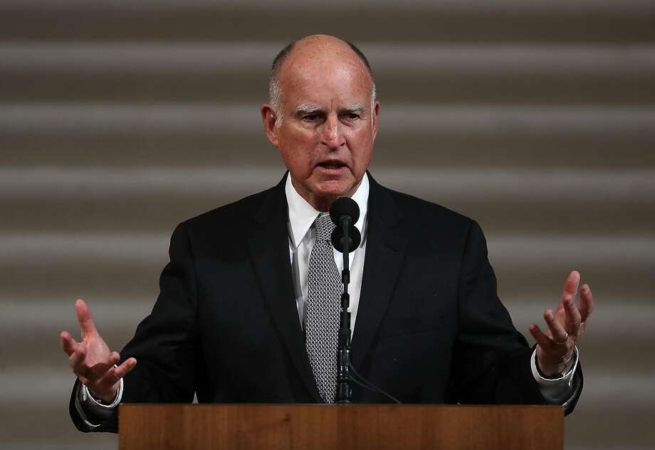 Honoring a holiday tradition, Gov. Jerry Brown pardoned 132 people for their crimes and commuted the sentences of 19 more, his office announced Saturday. Photo: Justin Sullivan, Getty Images
