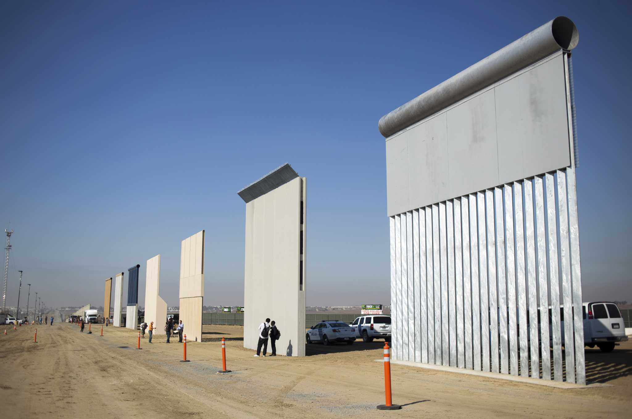 Trump S Border Wall One Year Into Term Is No More Than