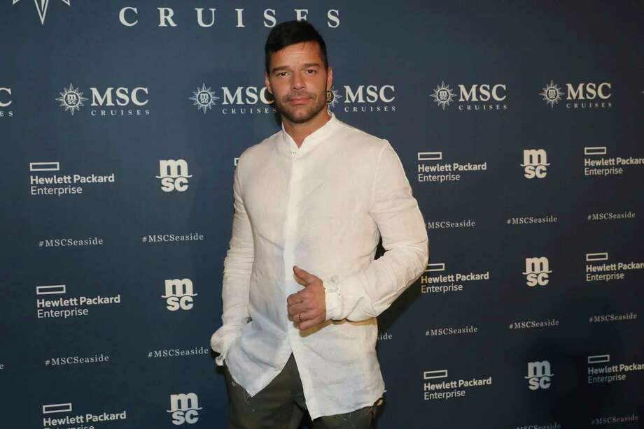 IMAGE DISTRIBUTED FOR MSC CRUISES - In this image distributed on Friday, Dec. 22, 2017, multiple GRAMMY and LATIN GRAMMY winner Ricky Martin headlined the events for the naming of MSC Cruises' new ship MSC Seaside with a performance of his top hits. (Photo by Aaron Davidson/Invision for MSC Cruises]/AP Images) Photo: Maria Grigorian / MSC Cruises