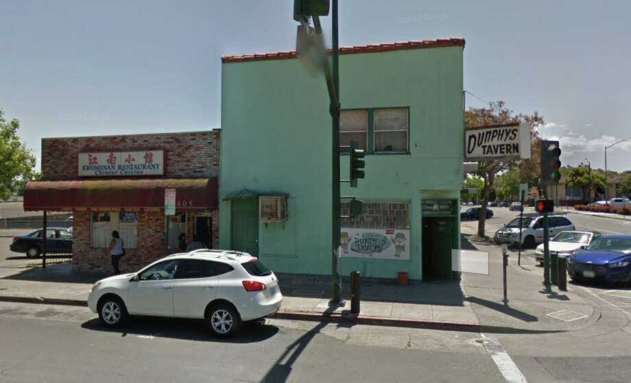 Google street view shows the Vallejo dive bar where three people were shot Saturday night. Photo: Google Maps