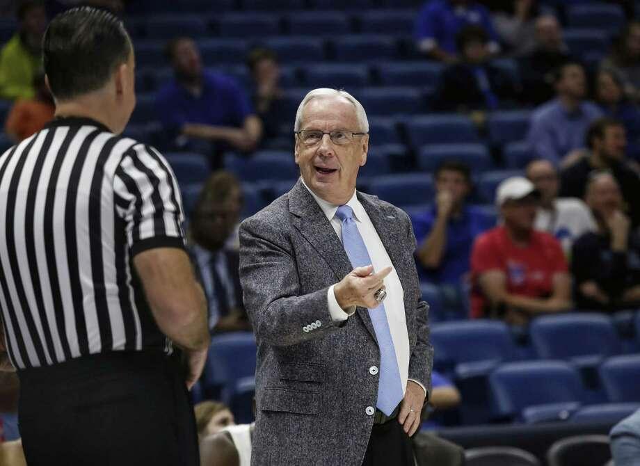 North Carolina head coach Roy Williams. Photo: Scott Threlkeld / Associated Press / FR171144 AP