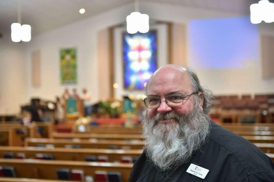 Pastor Stephen Curry of the LaVernia United Methodist Church. Photo: Robin Jerstad, Freelance / San Antonio Express News / ROBERT JERSTAD