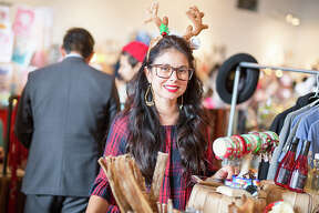 """A mini-Christmas festival brought vendors, artists and more to Brick at Blue Star for the Brickmas Holiday Market 2017 on Saturday, Dec. 23, 2017. The event, dubbed as the """"Best. Holiday. Market. Ever!"""" gave Southtown-goers a chance to shop local ahead of Christmas Eve."""