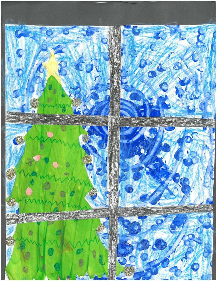 The Times Union 2017 Holiday Card Contest winning entry came from Melanie Czajka, a first-grade student at Pine Bush Elementary.