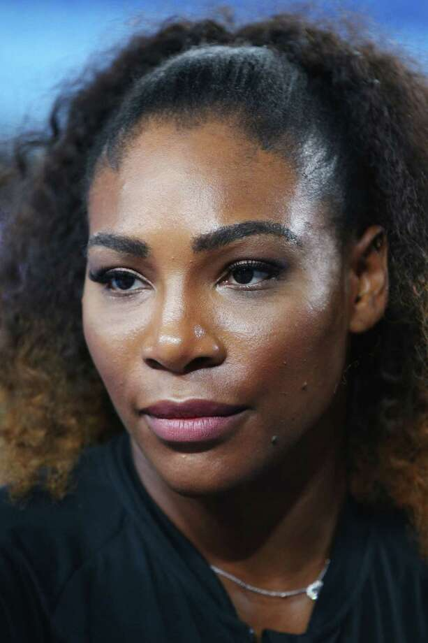 MELBOURNE, AUSTRALIA - JANUARY 12:  Serena Williams of the USA speaks to mediaduring a Wilson Racquet promotion ahead of the 2017 Australian Open at Melbourne Park on January 12, 2017 in Melbourne, Australia.  (Photo by Michael Dodge/Getty Images) ORG XMIT: 667879827 Photo: Michael Dodge / 2017 Getty Images