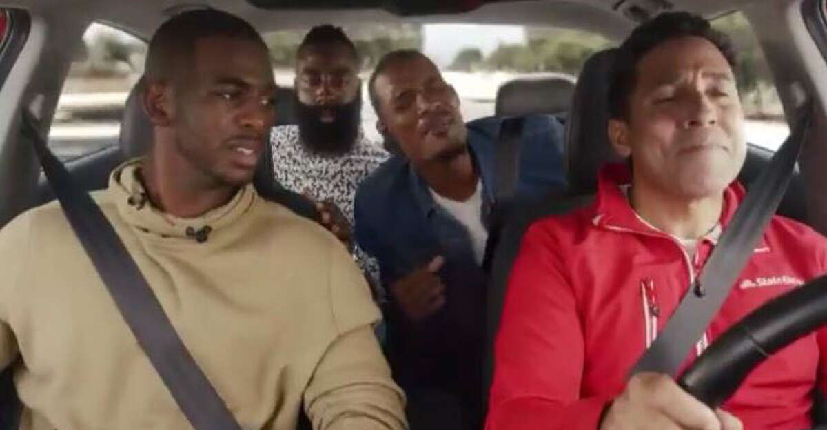 PHOTOS: Rockets game-by-game Rockets' Trevor Ariza stars in a State Farm commercial with teammates Chris Paul and James Harden. Browse through the photos to see how the Rockets have fared through each game this season.