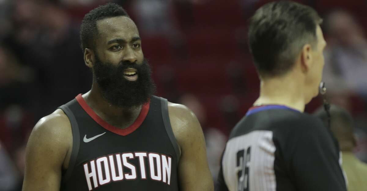 PHOTOS: Rockets game-by-game Houston Rockets guard James Harden (13) shows his reaction to a call by NBA referee Pat Fraher during a game against the LA Clippers at the Toyota Center on Friday, Dec. 22, 2017, in Houston. Clippers won the game 128-118. ( Elizabeth Conley / Houston Chronicle ) Browse through the photos to see how the Rockets have fared through each game this season.