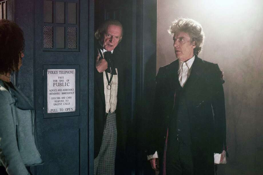 Bill (PEARL MACKIE), The First Doctor (DAVID BRADLEY), The Doctor (PETER CAPALDI) Photo: Credit: Simon Ridgway / BBC/BBC WORLDWIDE 2017. Credit: Simon Ridgway