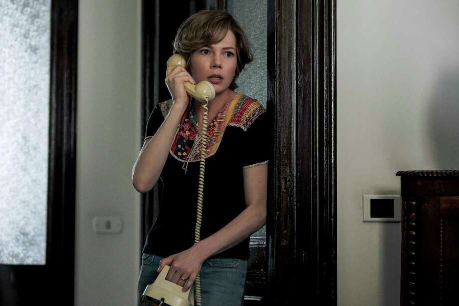 """This image released by Sony Pictures shows Michelle Williams in a scene from """"All the Money in the World."""" (Fabio Lovino/Sony Pictures via AP) ORG XMIT: NYET650 Photo: Fabio Lovino / ©2017 ALL THE MONEY US, LLC. ALL RIGHTS RESERVED."""