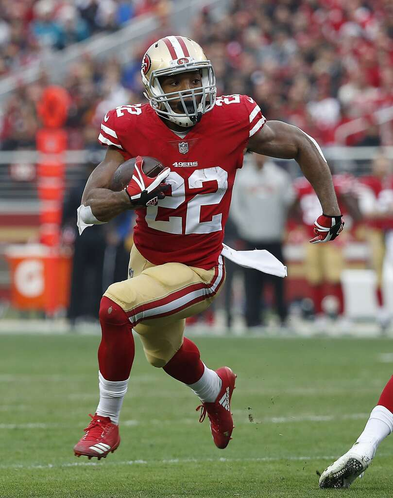 The Ers Also Have Running Backs Under Contract For Delapan Including Matt Breida Who Had