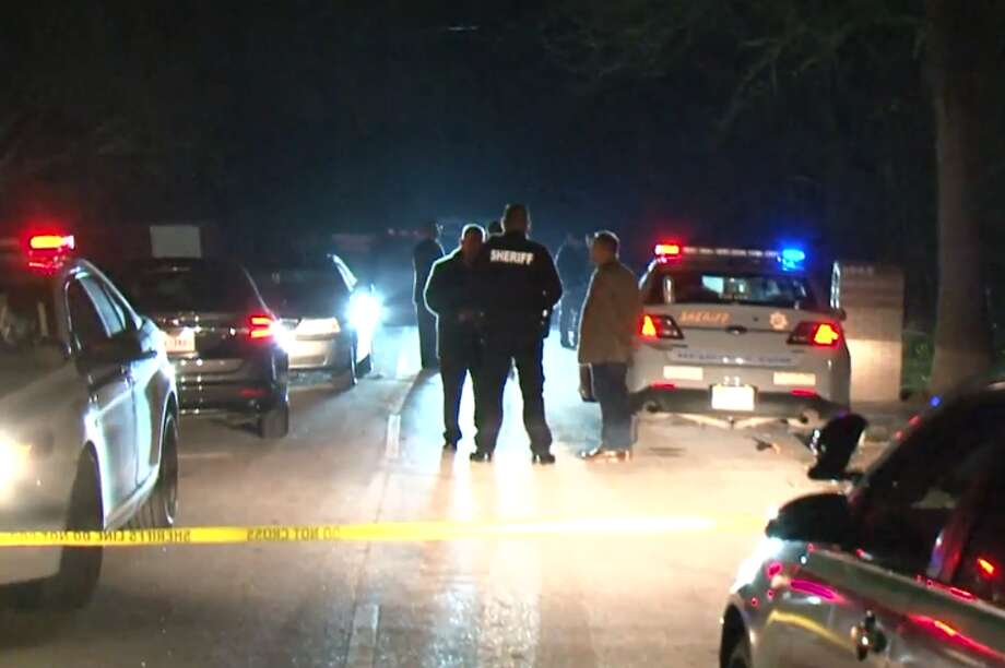 Two people were shot - one fatally - after a domestic dispute between family members in north Houston Sunday, police said. The shooting occurred around 9:30 p.m. after a fight between two couples spilled out of a home at Lauder and Homestead roads, police said. Police said that all parties involved were related to one another. Photo: Metro Video LLC / For The Houston Chronicle