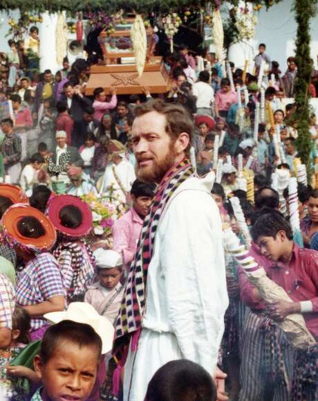 Father Stanley Rother, who was beatified earlier this year, was killed in 1981 while serving in Guatemala. Here he's pictured at a village festival.. Photo: Archdiocese Of Oklahoma City / Archdiocese Of Oklahoma City