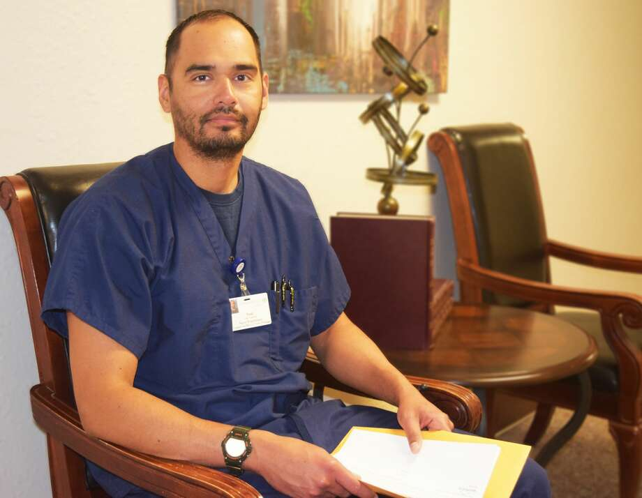 """Covenant Health Plainview is proud to welcome Saul Gamboa as the clinic's new Family Nurse Practitioner.""""I'm really excited to get started here in Plainview. I can't wait to enter this new level in my career,"""" said Gamboa.Gamboa, who started this Monday, will work with Dr. David Wright at the Covenant Healthcare Center of Plainview.G Photo: Homer Marquez/Covenant Health Plainview"""