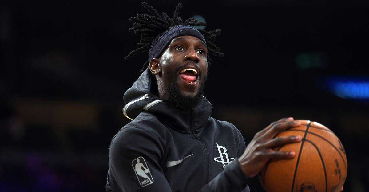LOS ANGELES, CA - DECEMBER 3: Briante Weber #0 of the Houston Rockets warms up before taking on Los Angeles Lakers at Staples Center December 3, 2017, in Los Angeles, California. NOTE TO USER: User expressly acknowledges and agrees that, by downloading and or using this photograph, User is consenting to the terms and conditions of the Getty Images License Agreement. (Photo by Kevork Djansezian/Getty Images)