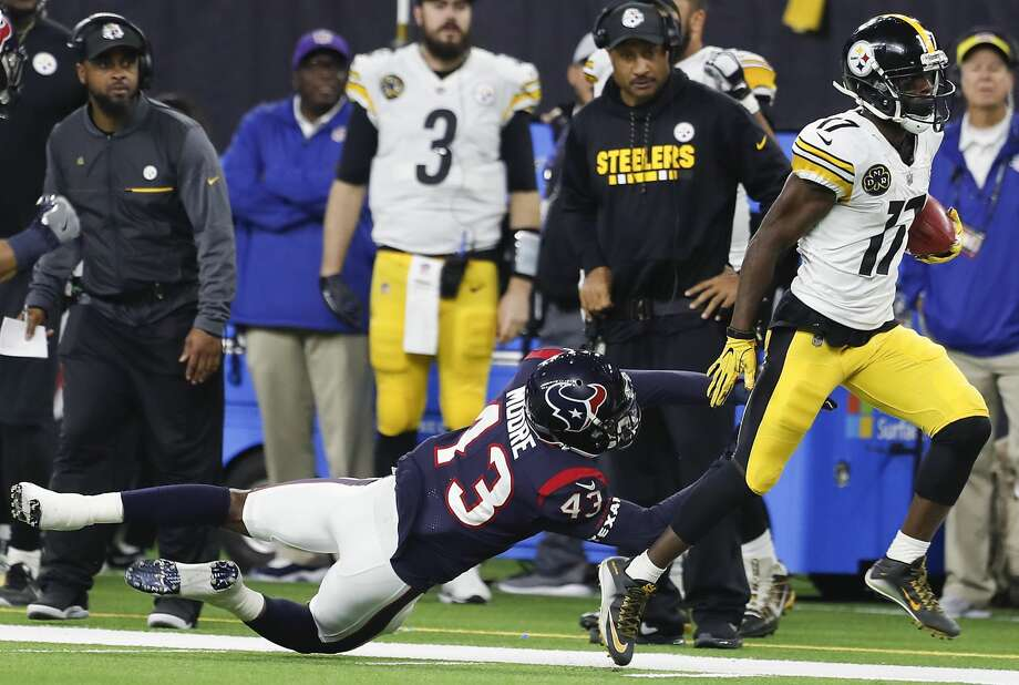 Eli Rogers was cut by the Steelers during the preseason. Photo: Brett Coomer/Houston Chronicle