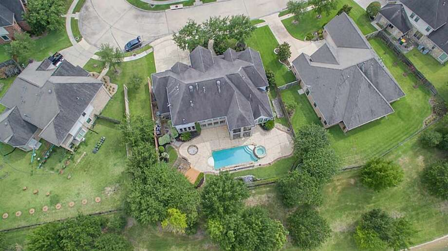 11801 Sea Shadow Bend, Pearland, TX 77584This home was owned by former Houston Rockets center Luis Scola, and features four bedrooms and five bathrooms, and offers a level of taste comparable to that of the other home he's selling. Photo: Realtor.com