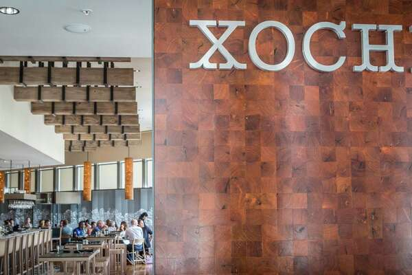 Chef Hugo Ortega opened Xochi, an Oaxacan inspired restaurant, in the Marriiott Marquis Downtown Houston in 2017.