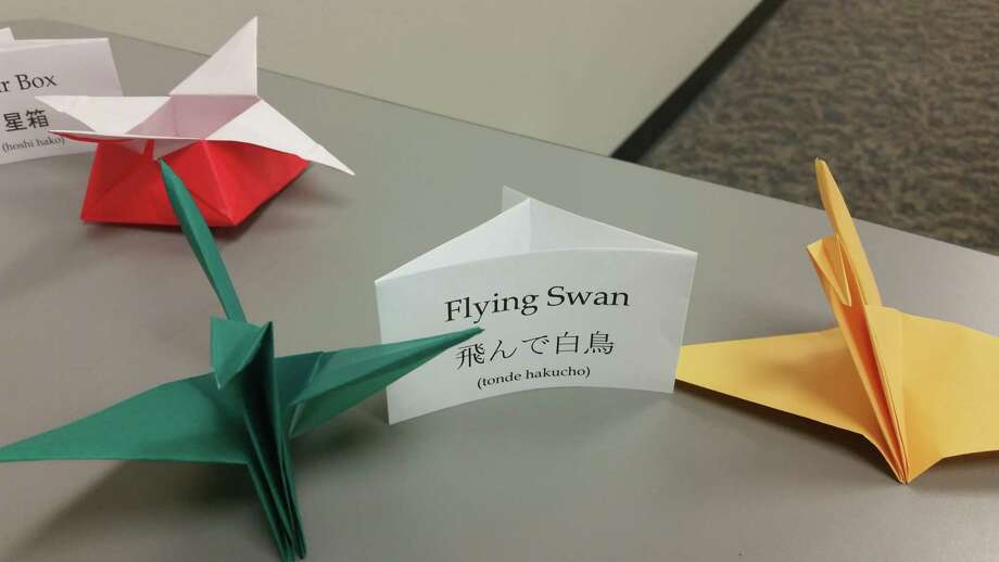 Fort Bend County Libraries' George Memorial Library, 1001 Golfview, Richmond, will present a demonstration of Japanese origami on Wednesday, Jan. 3, from 5:30 to 7:30 p.m. Photo: Fort Bend County Libraries