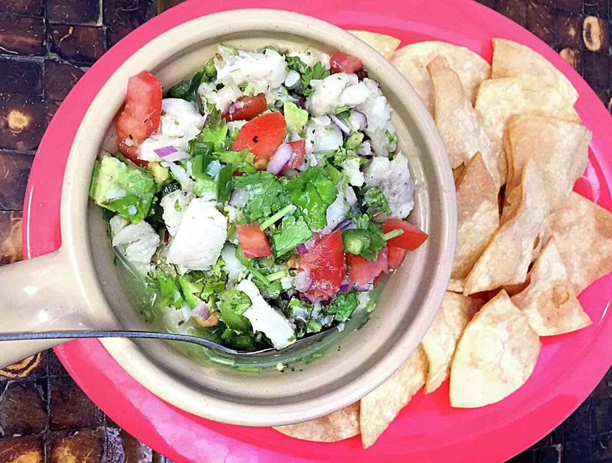 A blend of cod and pollack is marinated overnight and blended to order with fresh cilantro, avocado and tomatoes. (Paul Stephen)2367 Austin Highway, 210-467-9043, no web presence