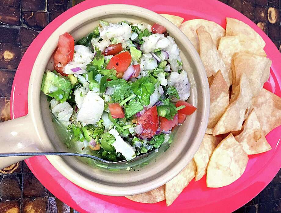 A blend of cod and pollack is marinated overnight and blended to order with fresh cilantro, avocado and tomatoes. (Paul Stephen)2367 Austin Highway, 210-467-9043, no web presence Photo: Paul Stephen /San Antonio Express-News