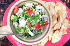 Alamo Fish 'n Chips: Ceviche A blend of cod and pollack is marinated overnight and blended to order with fresh cilantro, avocado and tomatoes. (Paul Stephen) 2367 Austin Highway, 210-467-9043, no web presence